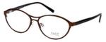 FACE Stockholm Smashing 1348-5203 Designer Eyeglasses in Brown :: Progressive