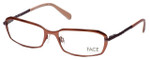 FACE Stockholm Believe 1311-5402 Designer Reading Glasses in Light Copper