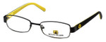 Body Glove Designer Eyeglasses BB119 in Black & Yellow KIDS SIZE :: Progressive