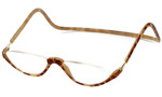 Clic Magnetic Reading Glasses Blonde Tortoise Sonoma Style :: Regular Fit