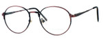 Regency International Designer Eyeglasses Cambridge in Antique Rose 50mm :: Custom Left & Right Lens