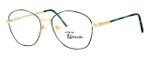 Regency International Designer Eyeglasses Yale in Gold K 103 54mm :: Rx Bi-Focal