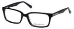Eddie Bauer Designer Eyeglasses EB8370-Black in Black 54mm :: Custom Left & Right Lens