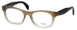 Prada Designer Reading Glasses VPR11S-UBJ101 in Transparent-Fade 51mm