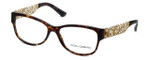 Dolce & Gabbana Designer Eyeglasses DG3185-502 in Havana 55mm :: Custom Left & Right Lens