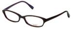 Oliver Peoples Designer Eyeglasses Cady Miam in Brown 50mm :: Custom Left & Right Lens