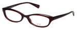 Oliver Peoples Designer Eyeglasses Marceau SI in Burgundy 51mm :: Custom Left & Right Lens