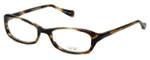 Oliver Peoples Designer Eyeglasses Marcela COCO in Cocobolo 51mm :: Custom Left & Right Lens