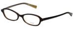 Oliver Peoples Designer Eyeglasses Ninette MN in Dark Brown 48mm :: Custom Left & Right Lens