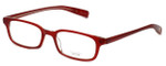 Oliver Peoples Designer Eyeglasses Rydell FR in Red 46mm :: Custom Left & Right Lens