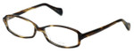 Oliver Peoples Designer Eyeglasses Talana COCO in Coco 52mm :: Custom Left & Right Lens