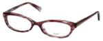Oliver Peoples Designer Eyeglasses Marceau PH in Purple Horn 51mm :: Rx Single Vision