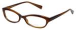 Oliver Peoples Designer Eyeglasses Marceau SYC in Brown Horn 51mm :: Rx Single Vision