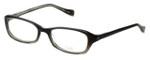 Oliver Peoples Designer Eyeglasses Marcela OBSGR in Smoke Fade 51mm :: Rx Single Vision