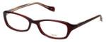 Oliver Peoples Designer Eyeglasses Marcela SI in Burgundy 51mm :: Rx Single Vision