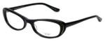 Oliver Peoples Designer Eyeglasses Margriet BK in Black 50mm :: Rx Single Vision