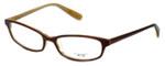 Oliver Peoples Designer Eyeglasses Maria MN in Brown 51mm :: Rx Single Vision