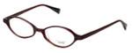 Oliver Peoples Designer Eyeglasses Carina CHA in Purple Stripe 47mm :: Rx Bi Focal