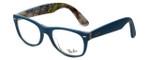 Ray-Ban Designer Eyeglasses RB5184-5407 in Blue 52mm :: Custom Left & Right Lens