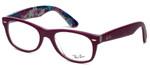 Ray-Ban Designer Eyeglasses RB5184-5408 in Purple 50mm :: Progressive