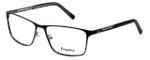 Esquire Designer Eyeglasses EQ1517 in Black 58mm :: Custom Left & Right Lens
