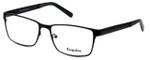 Esquire Designer Eyeglasses EQ8650 in Black 57mm :: Custom Left & Right Lens
