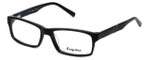 Esquire Designer Eyeglasses EQ1507 in Black 54mm :: Rx Single Vision