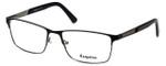 Esquire Designer Eyeglasses EQ1516 in Black 57mm :: Rx Single Vision