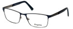 Esquire Designer Eyeglasses EQ1516 in Navy 57mm :: Rx Single Vision