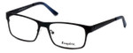 Esquire Designer Eyeglasses EQ8651 in Black 54mm :: Rx Single Vision