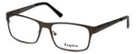 Esquire Designer Eyeglasses EQ8651 in Gunmetal 54mm :: Rx Single Vision