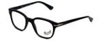 Persol Designer Eyeglasses PO3093V-9000 in Matte Black 48mm :: Progressive