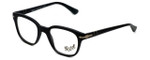 Persol Designer Eyeglasses PO3093V-9000 in Matte Black 48mm :: Rx Bi-Focal