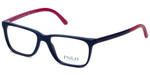 Polo Ralph Lauren Designer Reading Glasses PH2129-5515 in Navy Purple 51mm