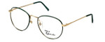 Regency Designer Eyeglasses Ashley in Gold-Jade 54mm :: Custom Left & Right Lens