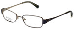 Silver Dollar Designer Eyeglasses Connie in Pewter 49mm :: Custom Left & Right Lens