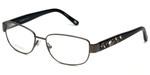 Silver Dollar Designer Eyeglasses Cashmere 472 in Graphite 53mm :: Rx Single Vision