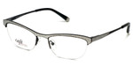 Silver Dollar Designer Eyeglasses CB1001 in Silver Glitter 51mm :: Rx Single Vision