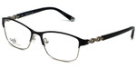 Silver Dollar Designer Eyeglasses CB1013 in Tuxedo 52mm :: Rx Single Vision