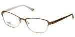 Silver Dollar Designer Eyeglasses CB1025 in Camel 53mm :: Rx Single Vision