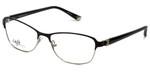 Silver Dollar Designer Eyeglasses CB1025 in Caviar 53mm :: Rx Single Vision