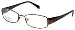 Silver Dollar Designer Eyeglasses Fawn in Nutmeg 53mm :: Rx Single Vision