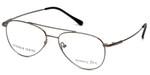 Silver Dollar Designer Eyeglasses Gunnison in Gunmetal 54mm :: Rx Single Vision
