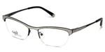 Silver Dollar Designer Eyeglasses CB1001 in Silver Glitter 51mm :: Progressive