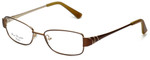 Silver Dollar Designer Eyeglasses Connie in Cocoa 49mm :: Progressive