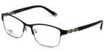 Silver Dollar Designer Eyeglasses CB1013 in Tuxedo 52mm :: Rx Bi-Focal