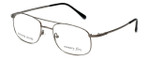 Silver Dollar Designer Reading Glasses Abbott in Gunmetal 54mm