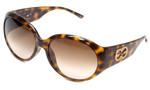 Escada Designer Sunglasses SES099S-9AJS in Havana 61mm
