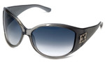 Escada Designer Sunglasses SES130-0645 in Smoke 70mm