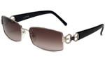 Escada Designer Sunglasses SES540S-579X in Silver & Black 58mm